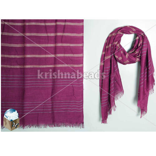 Ladies Viscose Duel Toned Fancy Shawl
