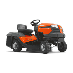 Red Husqvarna Ride on Lawn Mowers, Model Number: 120