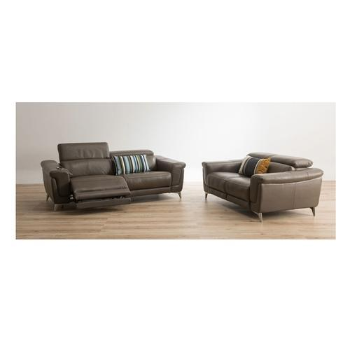 Durian And Durian Lopez 2 Seater Power Recliner Leather Sofa, Rs ...