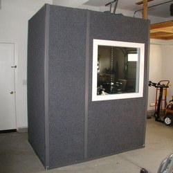 Mild Steel Vocal Booth