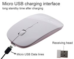 ROQ Rechargeable Slim Wireless Mouse