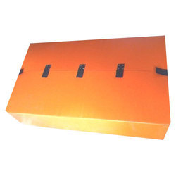 Orange PP Corrugated Box