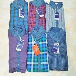 Urban Desire Cotton Mens Casual Shirts