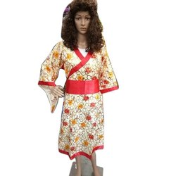 Polyester Chinese Girl Dress, >4yr