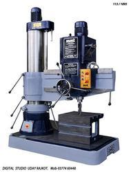 65 mm Radial Drill Machine.