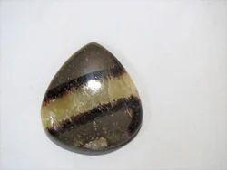 Natural Septarian Flatback Gemstone Cabochon