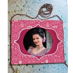 Printed Pink Blank Photo Bag, For Gifting, Size: 14x12 Inches