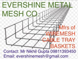 Wire Mesh Cable Tray Baskets