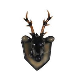 Old Antique Deer Face Wall Mount
