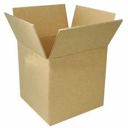 Rectangular Cardboard 3 Ply Corrugated Shipping Carton Box