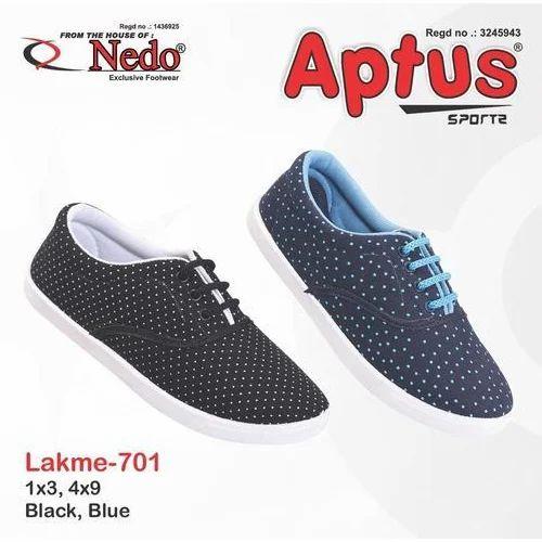 Blue Ladies Casual Shoes, Size: 1x3,4x9