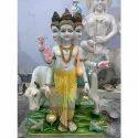 Makrana Marble Duttatrya Statue