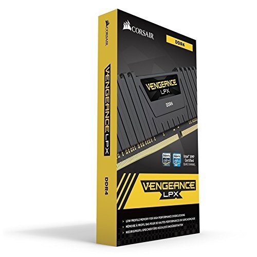 Corsair Vengeance 8GB DDR4 DRAM 2400MHz, Memory Size: 8 Gb, For Desktop Memory