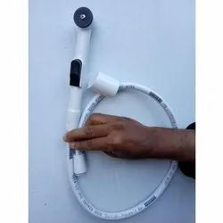 Single Handle PVC Bidet Shower with Pipe