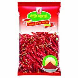 Niti Masale 1 kg Chili Powder, Packaging: Packet