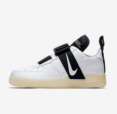 Almacén aerolíneas Playa  White Nike Air Force 1 Utility QS Men's Shoe, Rs 13995 /piece Rajshavree  Collections | ID: 20139686230