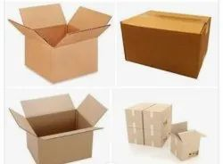 Cardboard Rectangle Corrugated Boxes, 5, Box Capacity: 21-30 Kg