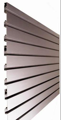 Aluminum Slatwall Panel