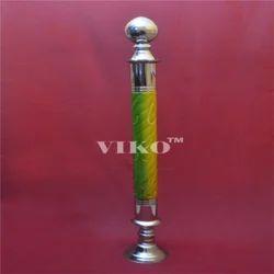 Stainless Steel Colour Rajwadi  Railing Pillar