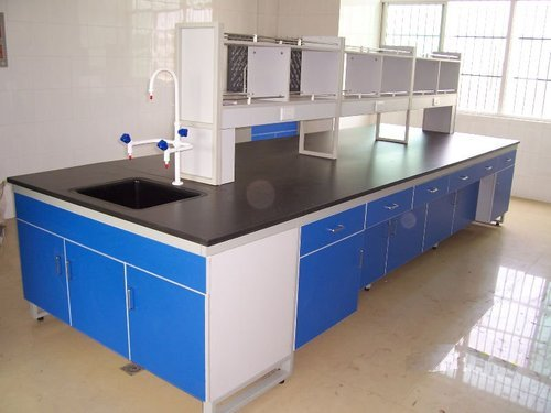 Island Table for Laboratory - Laboratory Benches Manufacturer from