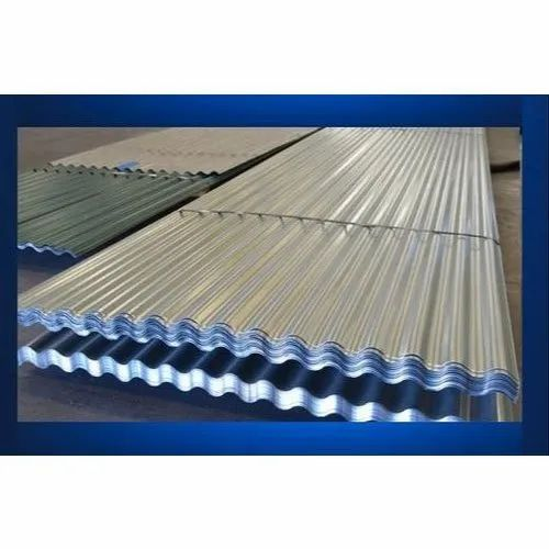 Rectangular Aluminium Corrugated Roofing Sheet Thickness Of Sheet 2mm Rs 45 Square Feet Id 21942602212