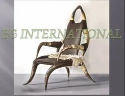 Modern Natural Horn Chair, Seating Capacity: 1 Person
