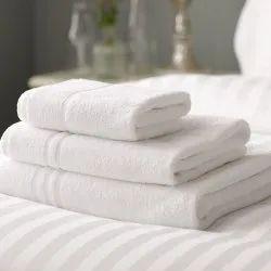 Plain Hotel Towel, Rectangular