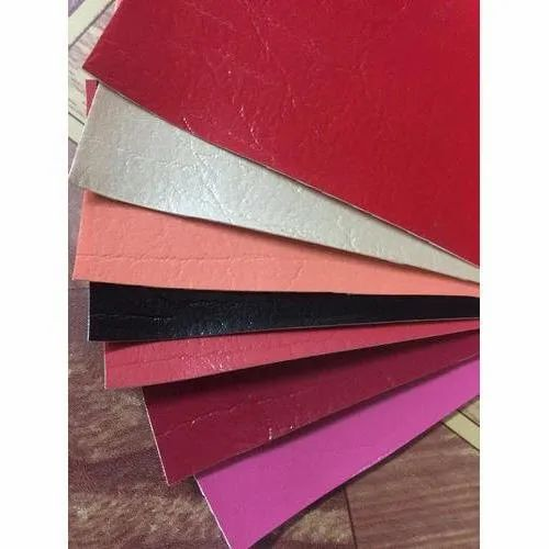 Plain Artificial Leather Fabric, Thickness: 0.7mm