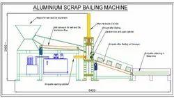 Aluminum Scrap Bailing Machine