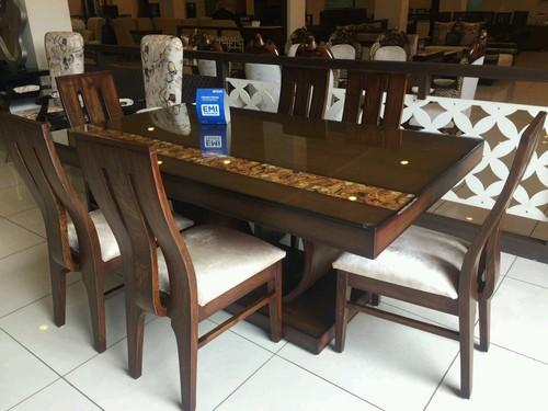 Teak Dining Table ( 6   Seater )