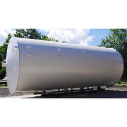 Silver Oil Fuel Storage Tanks, Storage Capacity: 1000 to 500000 Litter