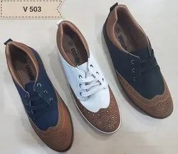 PU Daily Wear Shoes, Size: 40-45