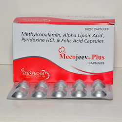 Methylcobalamin Alpha Lipoic Acid Pyridoxine HCL and Folic Acid Capsules