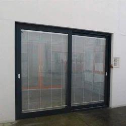 Aggrawal aluminium Black Aluminum Windows