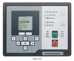 HMI220 Cummins Engine Controller