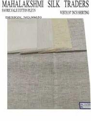99650- Poly Flex Cotton Shirting Fabric