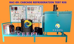 Cascade Refrigeration Test Rig