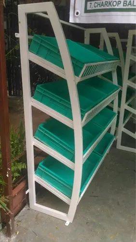 4 Shelves Vegetable Racks