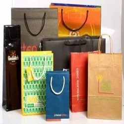 Paper Printed Designer Carry Bags, For Shopping