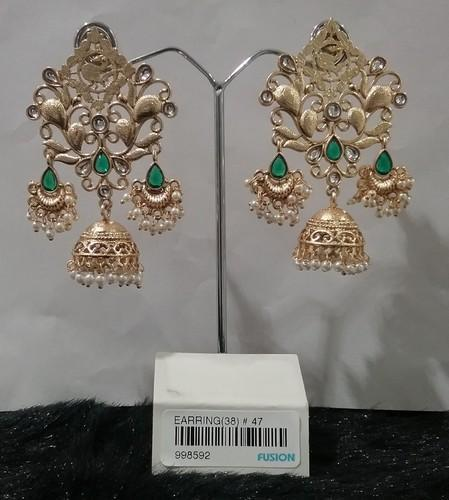 Designer Filigree Trendy Chandelier Jhumka Earrings at Rs 235 ...