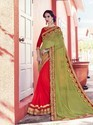Nylon Zari And Georgette Saree