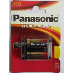 Panasonic 2CR5 Lithium Battery