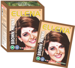 Ellena Dark Brown Henna Hair Color