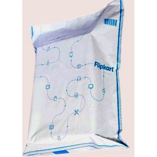 Standard White Flip Kart Printed Courier Bags, Thickness: 52, Size: 6 x 7
