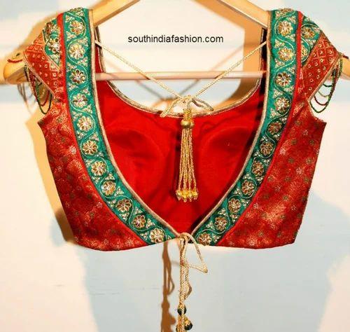 Ladies Tailor Specialist Blouse Designer Blouse ड ज इनर ब ल उज Kalpana Fashion Designer Chennai Id 17472119555