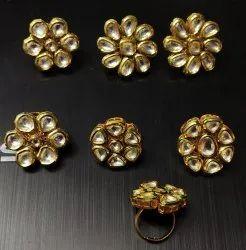 Kundan Party Wear Ring