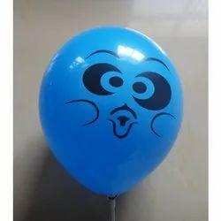 Blue Printed Printing Balloons