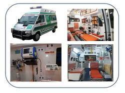 Fully Fabricated and Equipped Ambulance as per AIS 125 standards