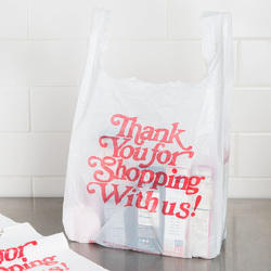 Printed Plastic Shopping Bag, Capacity: Up to 20 kg