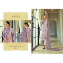 Light Purple Color Party Wear Straight Pant Pakistani Suit